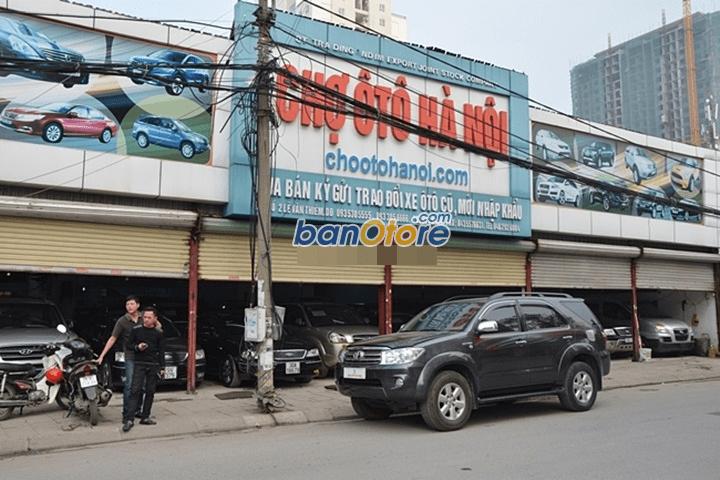 Chợ ô tô Hà Nội bán xe Toyota Fortuner sản xuất 2009, số tự động, 679tr