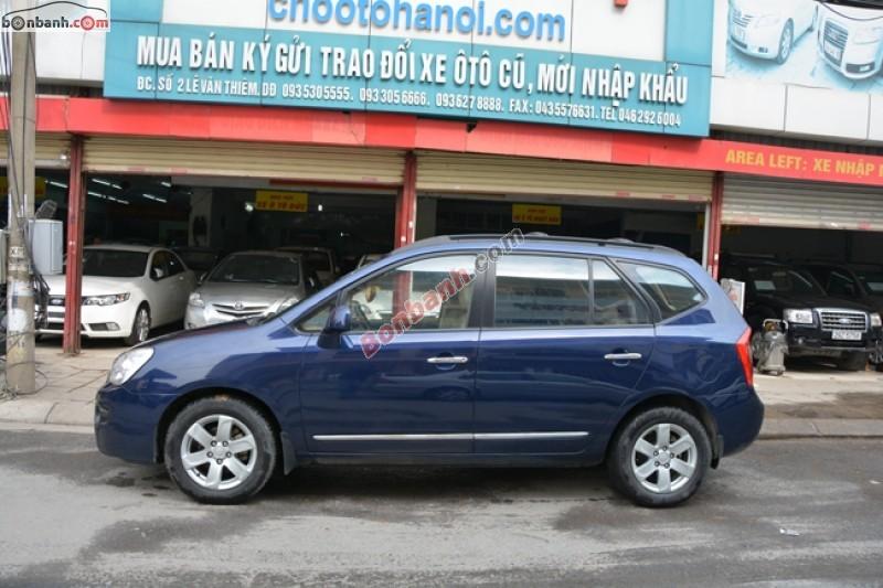 Chợ ô tô Hà Nội bán xe Kia Carens 2.0L đời 2008, xe nhập số sàn