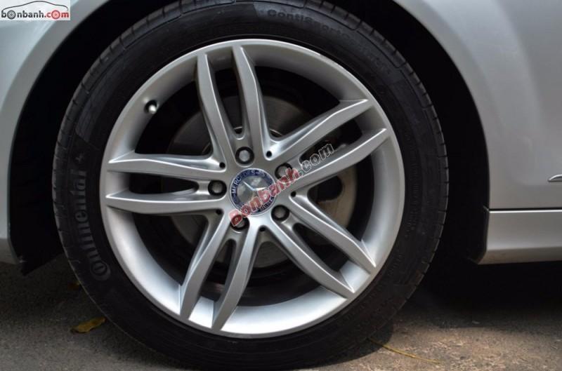 Gia đình cần bán Mercedes C200 sản xuất 2012, màu bạc xe
