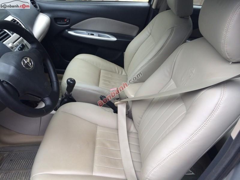 Bán ô tô Toyota Vios E đời 2008, màu bạc, không lỗi nhỏ