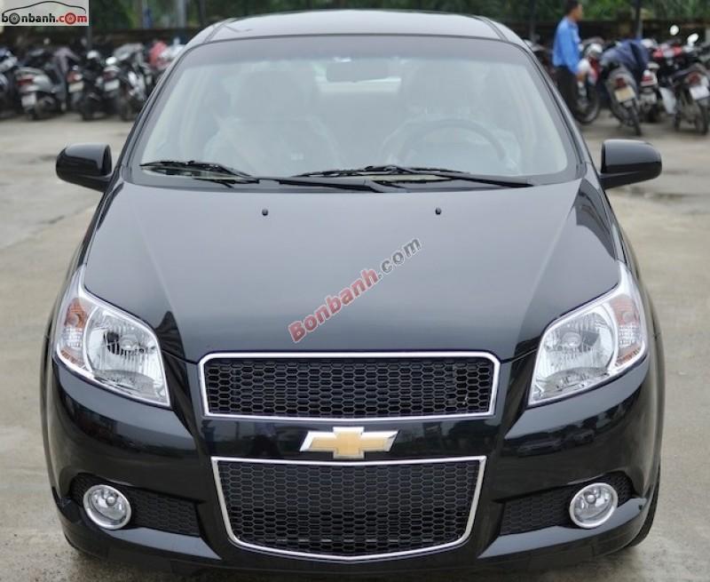 Bán xe Chevrolet Aveo LT đời 2015, màu đen tại GM Thăng Long