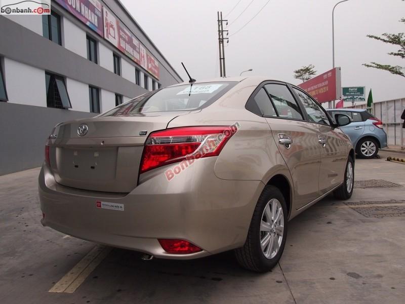 Cần bán Toyota Vios E đời 2015, giá chỉ 562 triệu