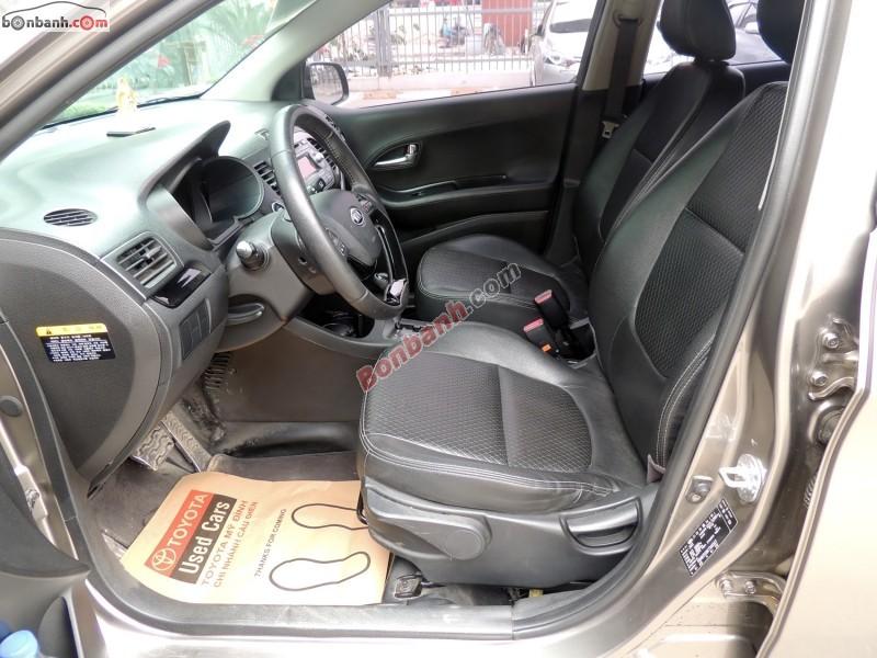Bán ô tô Kia Morning SLX đời 2011, màu xám - LH ngay 0987 574 038