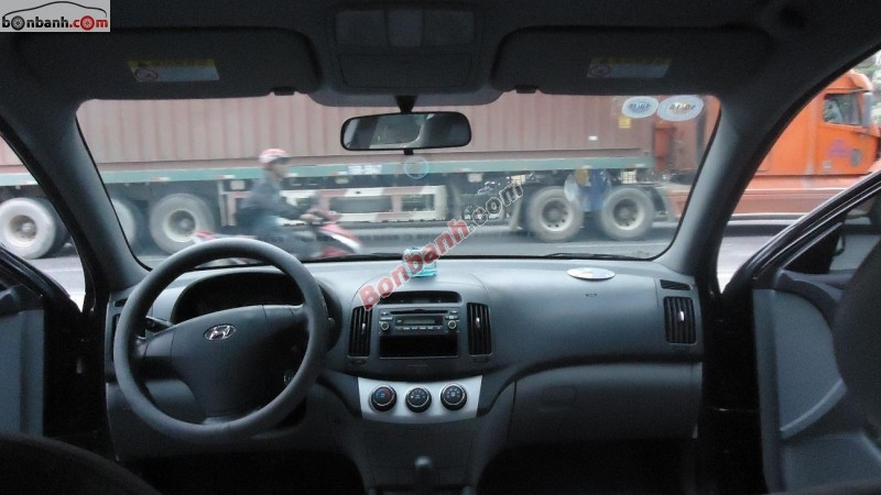 Bán xe Hyundai Avante đời 2009, màu đen, xe tư nhân đi giữ gìn