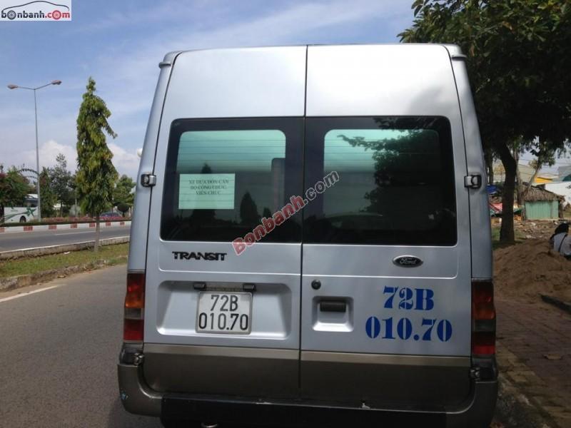 Cần bán xe Ford Transit sản xuất 2004, màu bạc chính chủ