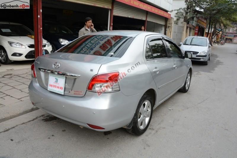 Cần bán lại xe Toyota Vios 1.5L đời 2008, màu bạc số tự động, 474Tr