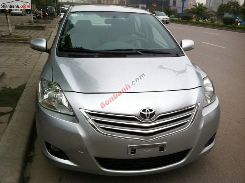 Bán Toyota Vios MT đời 2011, màu bạc, giá chỉ 515 triệu