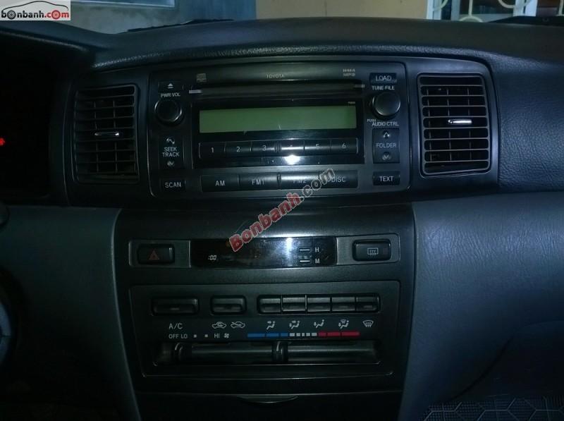 Bán xe Toyota Corolla altis 1.8G 2006, màu đen chính chủ, 489 triệu