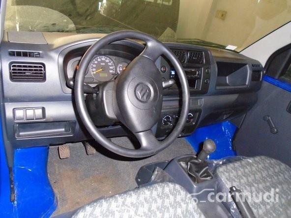 Cần bán Suzuki Carry sản xuất 2014, màu xanh trắng