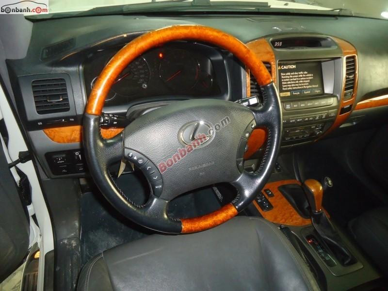 Cần bán xe Lexus GX 470 đời 2007, màu trắng, nhập khẩu