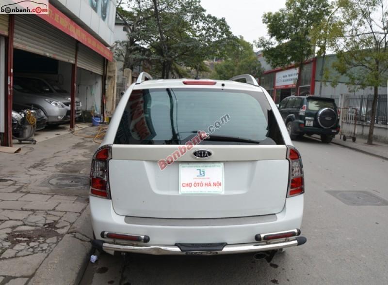 Bán ô tô Kia Carens đời 2011, màu trắng số tự động