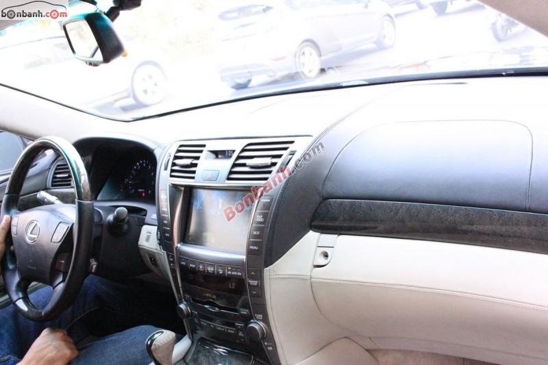 Cần bán lại xe Lexus LS 460L đời 2006, màu xám, xe đầy đủ tiện nghi