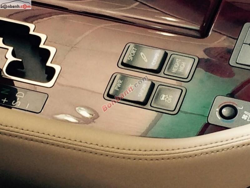 Cần bán gấp Lexus LS 460L đời 2009, màu đen, full option