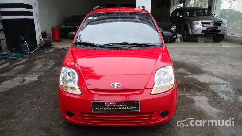 Cần bán xe Daewoo Matiz AT năm 2009, màu đỏ, giá chỉ 195 tr