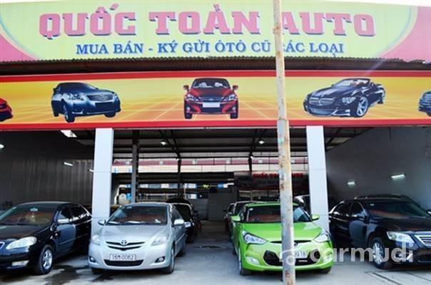 Cần bán gấp Kia Rio AT đời 2012, màu bạc tại Salon Auto Quốc Toản