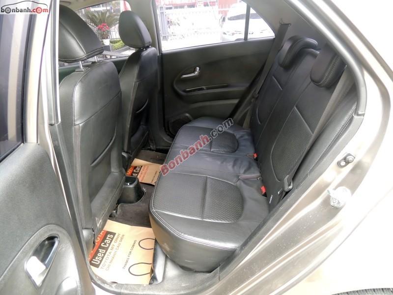 Cần bán gấp Kia Morning SLX đời 2011, màu xám, xe nhập như mới