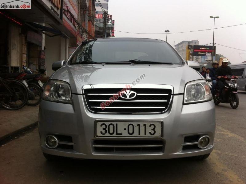 Salon Auto 108 bán xe Daewoo Gentra SX đời 2008, màu bạc mới chạy 60.000km
