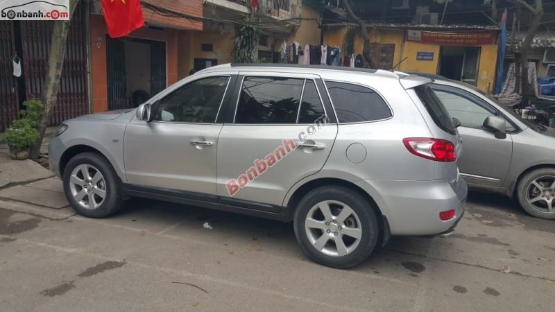 Cần bán Hyundai Santa Fe MLX đời 2008, màu bạc, xe nhập chính chủ