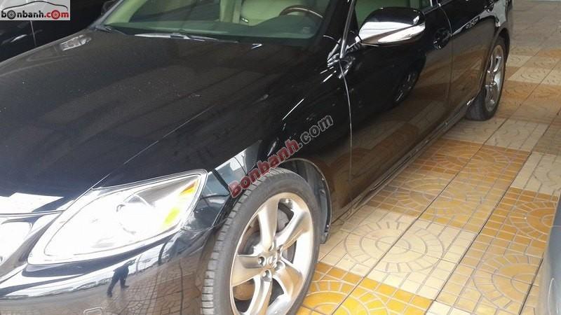 Cần bán xe Lexus GS 350 sản xuất 2008, màu đen, phiên bản Full Option