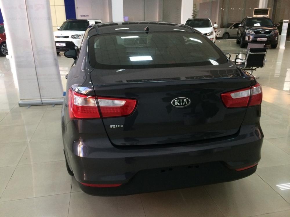 Bán Kia Rio Sedan 1.4L đời 2015, màu đen, nhập khẩu chính hãng, giá chỉ 542 triệu nhanh tay liên hệ