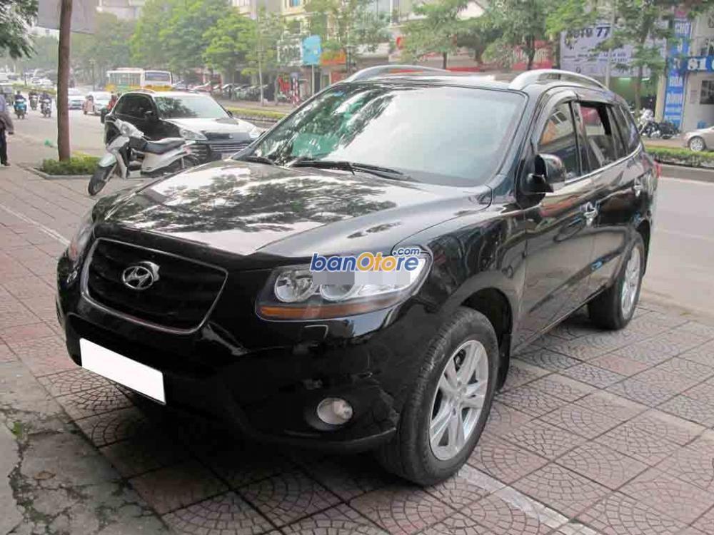 Việt Tuấn Auto bán xe Hyundai Santa Fe đời 2009, màu đen, xe nhập