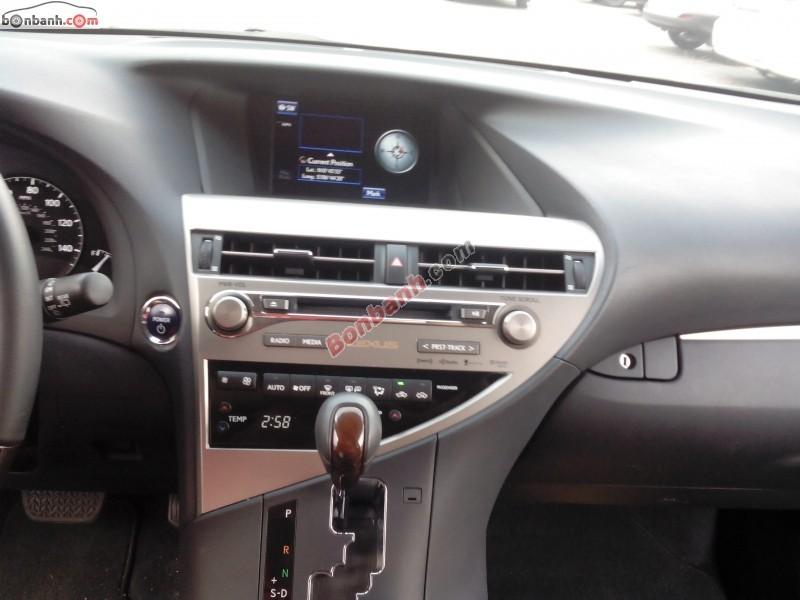 Cần bán Lexus RX 450h đời 2013, màu đen, nhập khẩu nguyên chiếc