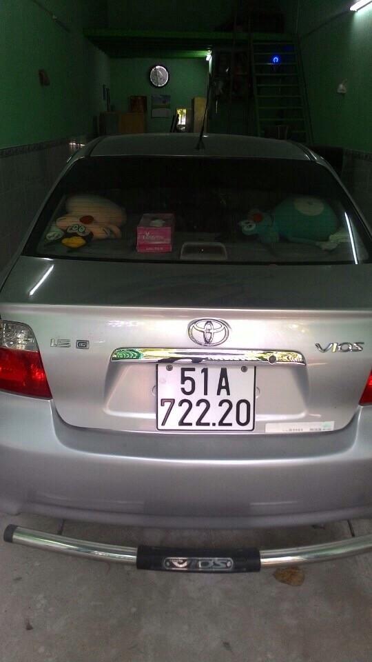 Mình bán ô tô Toyota Vios 1.5 đời 2005, xe nhập