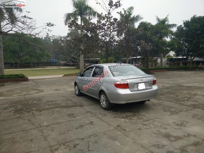 Bán Toyota Vios G đời 2005, màu bạc chính chủ, giá 278Tr