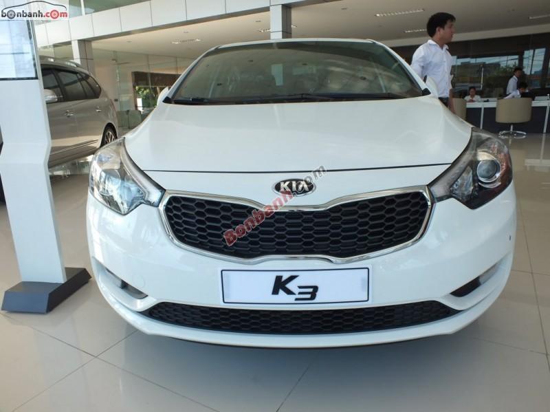 Cần bán Kia K3 1.6AT 2015, màu trắng, giá tốt gọi ngay 0986 396 657