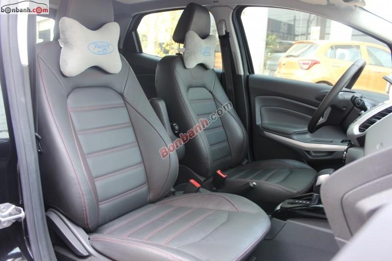 Cần bán Ford EcoSport 1.5L AT 2014, màu đen, số tự động, giá 675tr