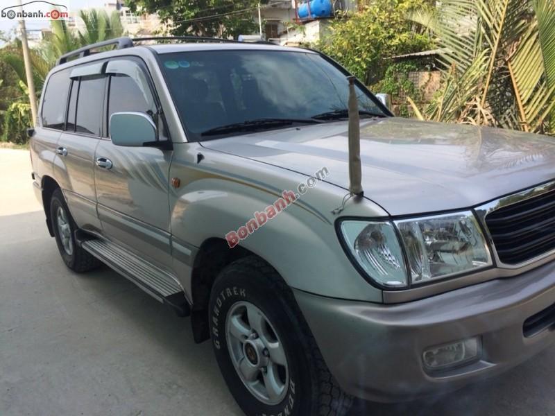 Cần bán xe Toyota Land Cruiser MT sản xuất 2000, số sàn