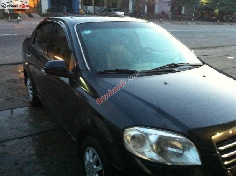 Chính chủ cần bán Daewoo Gentra đời 2010, màu đen