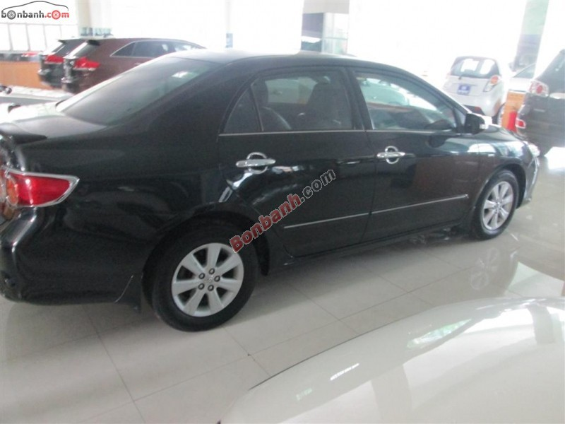Chính chủ cần bán xe Toyota Corolla altis đời 2008, màu đen, số tự động