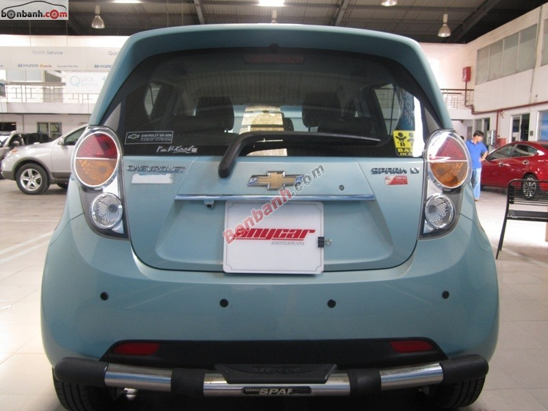Cần bán Chevrolet Spark 2012, số sàn, thủ tục giấy tờ nhanh gọn