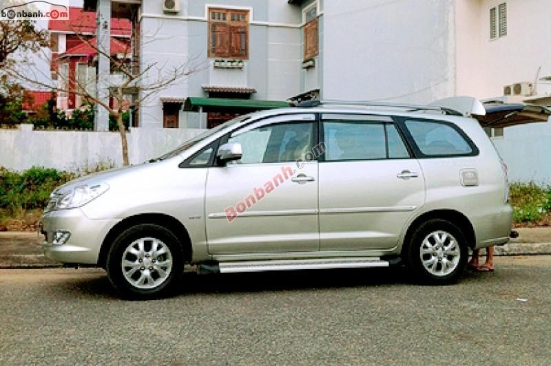 Cần bán lại xe Toyota Innova cũ màu bạc, như mới, giá 495tr