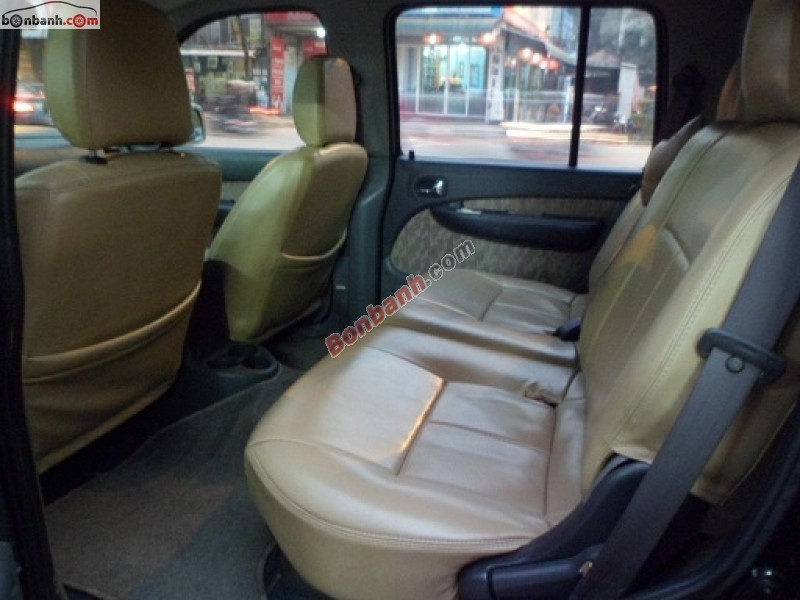 Salon Auto Kiên Cường bán xe Ford Everest 4x2 MT đời 2005, màu đen, số sàn, 410tr