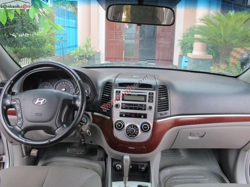 Ô tô Lạng Sơn cần bán lại xe Hyundai Santa Fe cũ màu bạc, nhập khẩu nguyên chiếc, 570 triệu