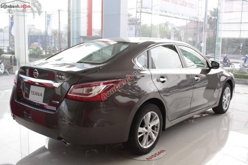 Cần bán xe Nissan Teana 2.5SL đời 2015, màu xám, nhập khẩu