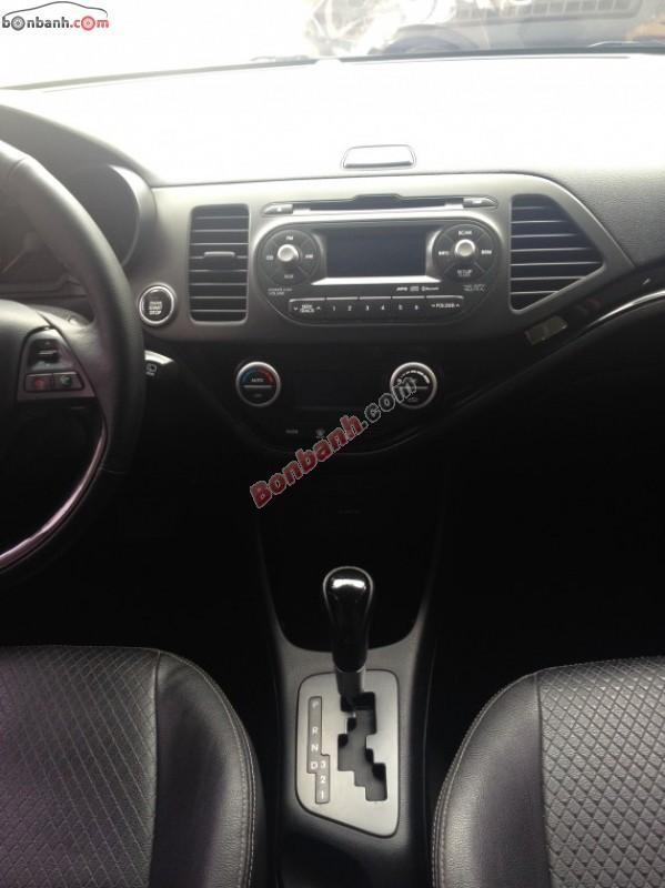 Lượng Auto cần bán Kia Morning đời 2011, màu vàng, xe nhập, số tự động