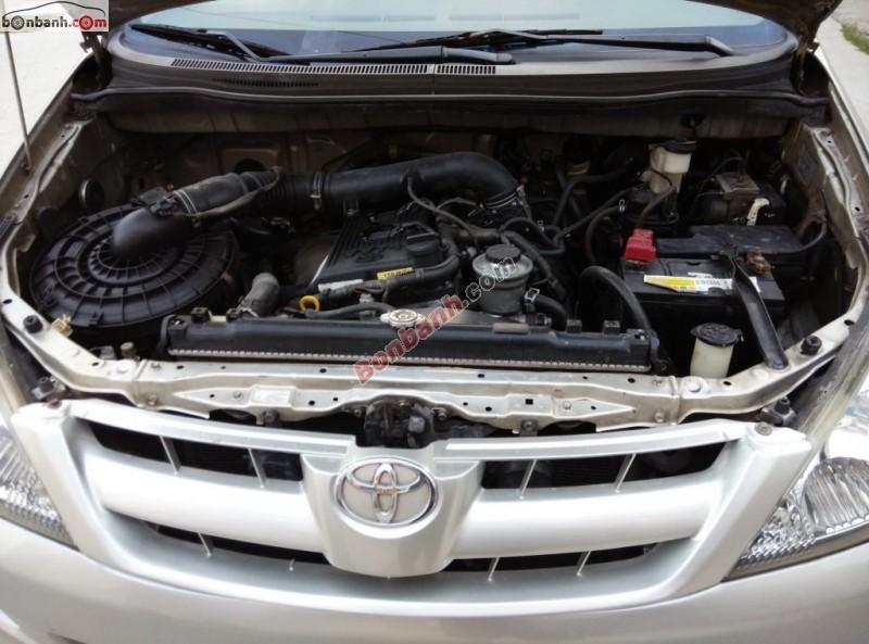 Cần bán xe Toyota Innova năm 2006, chính chủ, giá 458 triệu