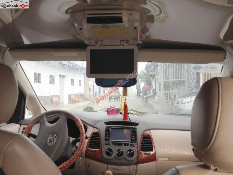 Cần bán gấp Toyota Innova đời 2007, xe gia đình giá 505tr