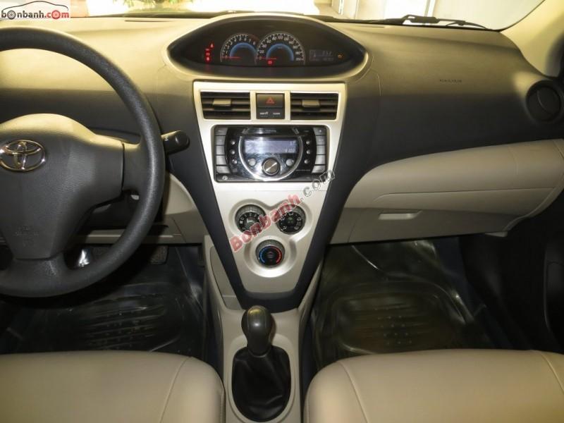 Bán xe Toyota Vios đời 2009, màu bạc, số sàn, xe cực tiết kiệm xăng