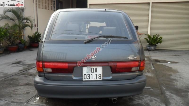 Bán Toyota Previa đời 1991, xe du lịch
