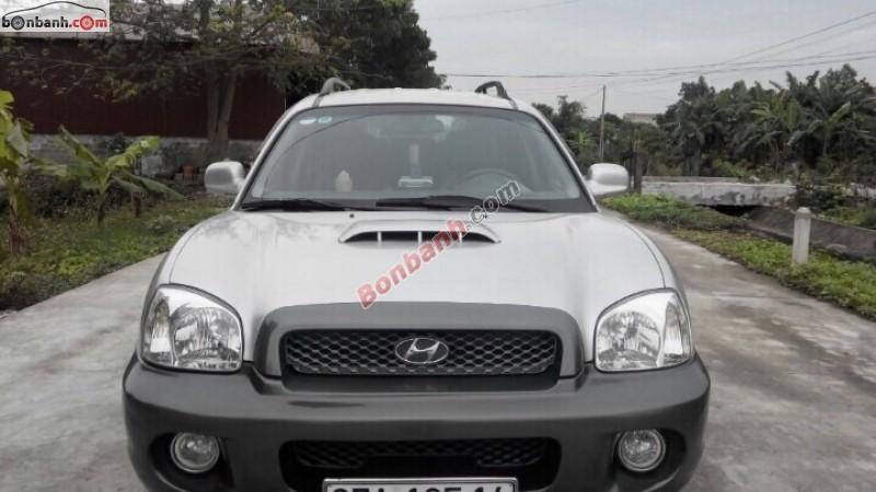 Xe Hyundai Santa Fe Gold 2003