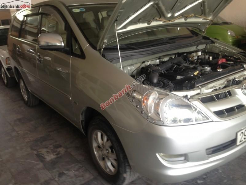 Ô tô Toyota Innova đời 2006, màu bạc, chính chủ bán