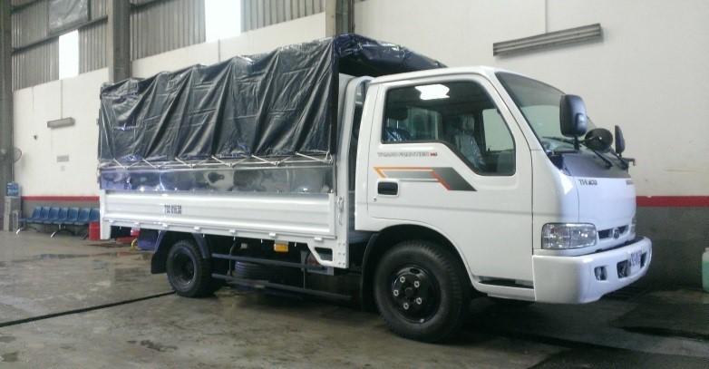 Xe tải Kia Trường Hải Frontier 140 tải trọng 1T4, 1T85. Bán theo giá gốc của công ty, hỗ trợ vay ngân hàng lãi suất thấp nhất, thủ tục nhanh