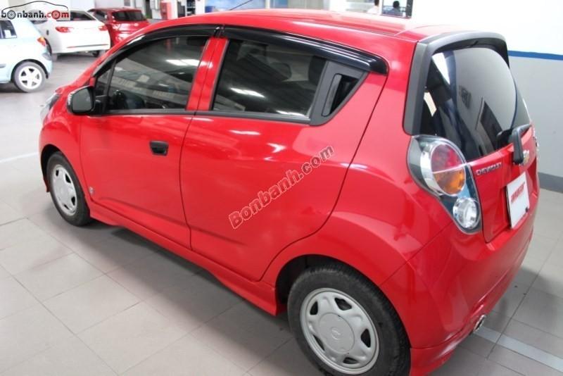 Cần bán lại xe Chevrolet Spark đời 2012, màu đỏ, số sàn