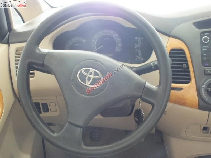 Toyota Innova đời 2008, màu bạc, số sàn, 480tr