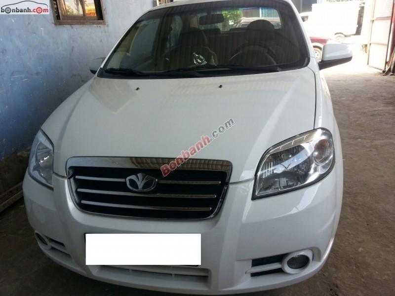 Cần bán xe Daewoo Gentra đời 2010, màu trắng, như mới, giá 320Tr