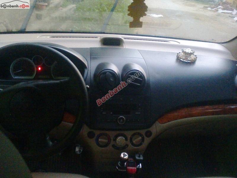 Cần bán xe Daewoo Gentra đời 2008, màu đen, đã đi 78000 km, giá 268tr